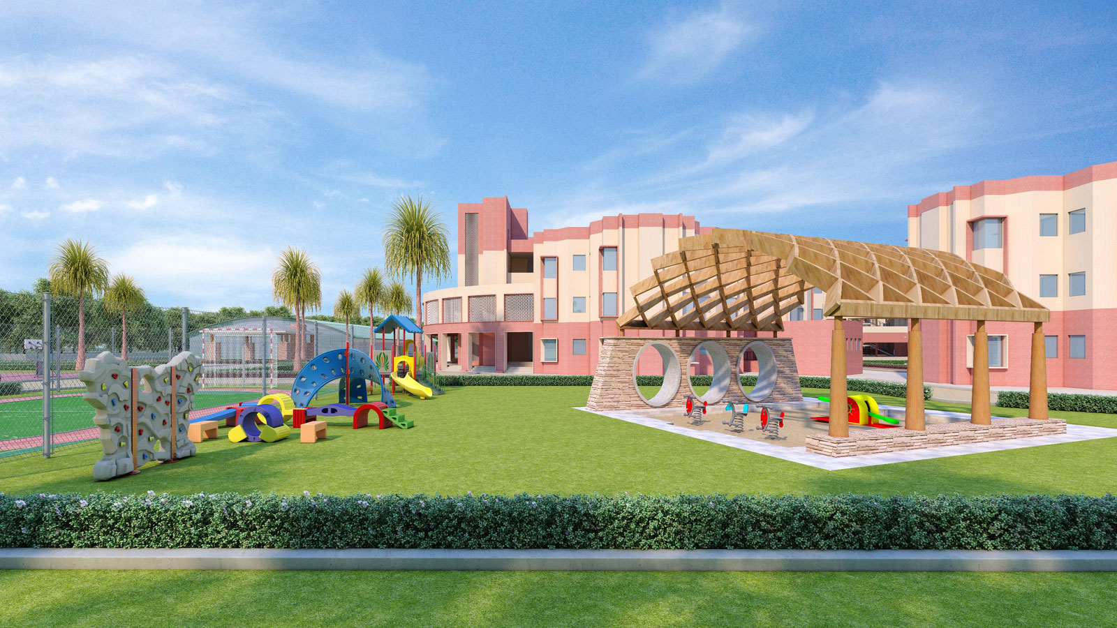 BEST ARCHITECTS AND DESIGN SERVICES FOR EXISTING SCHOOL FACE LIFTING SERVICES
