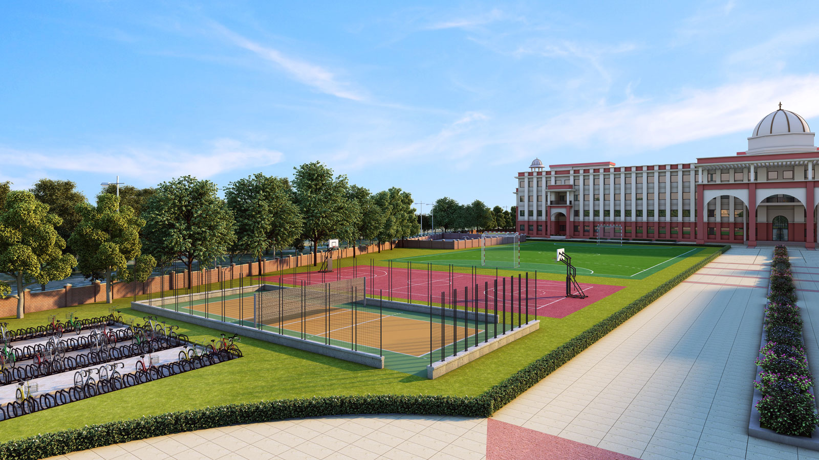 Best Architects For School Sports Facility