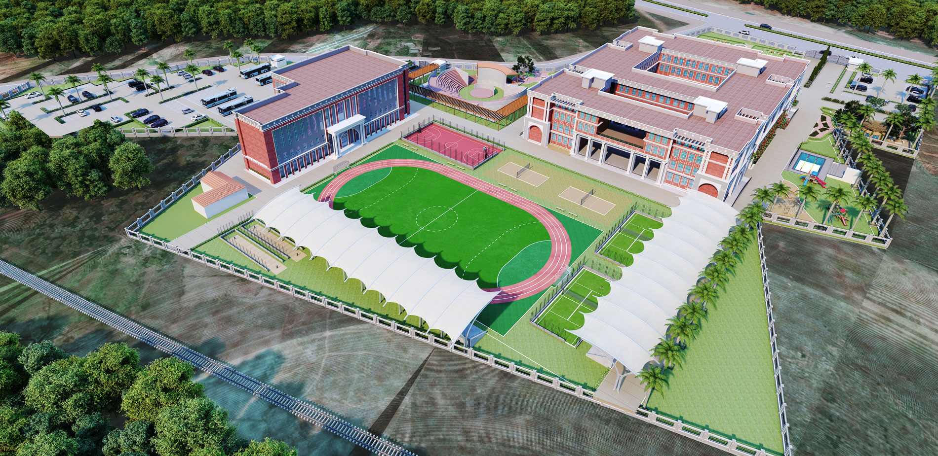 INDIA'S BEST SCHOOL ARCHITECTURE SERVICES