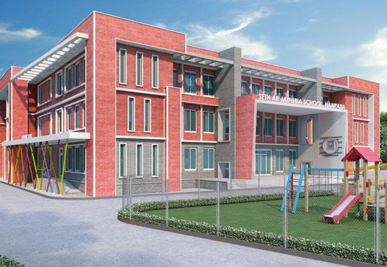 A R Jaipuria School<br>Nanpara, Uttar Pradesh
