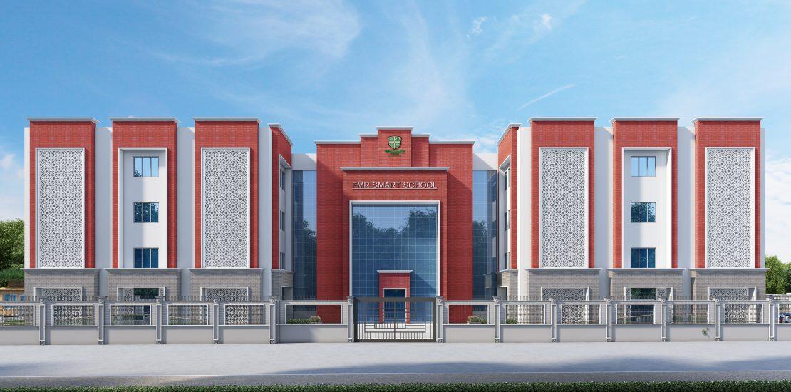 "FMR Smart School<br><span class=""yellow"">Golaghat, Jorhat, Assam</span>"