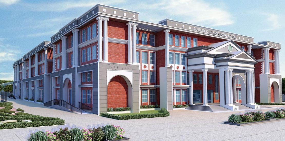 "Marigold International School<br><span class=""yellow"">Bangalore, Karnataka</span>"