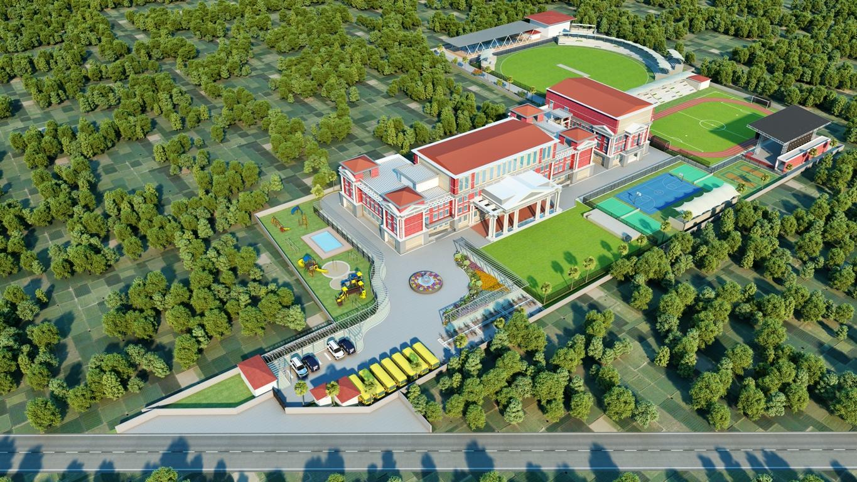 "Rosewood International School<br><span class=""yellow"">Rupnagar, Punjab</span>"